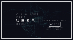 Uber Promo Code mcc25 for free ride