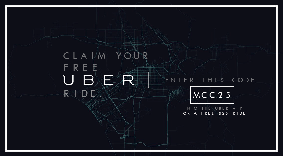 Uber Promo Code – Use Official 2016 Free Ride Code – mcc25
