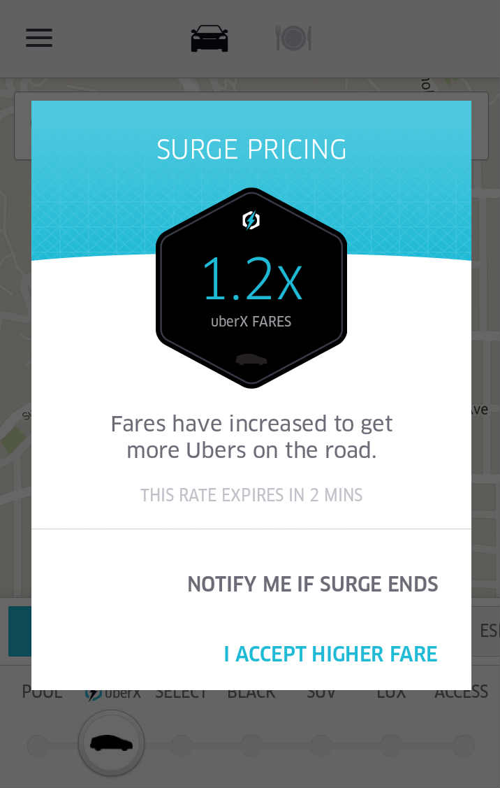 Uncategorized how do uber guaranteed rates work how does it work -  Will Uber Surge Pricing Confirmation Screen