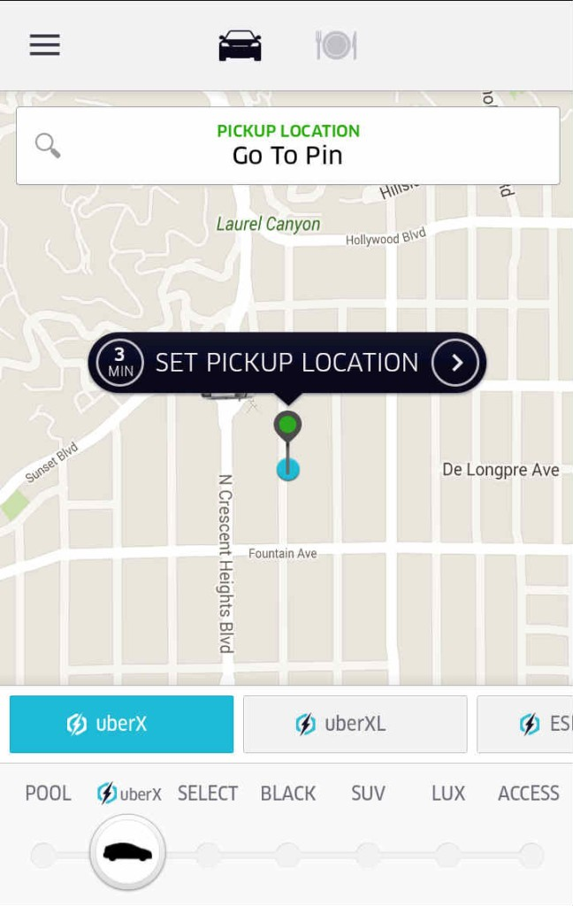 Uber Surge Pricing Passenger Map (Uber Surge Icon)