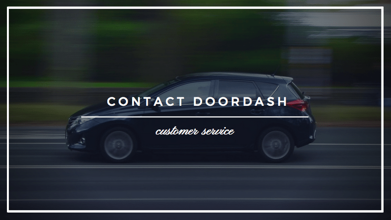 contact doordash phone number doordash