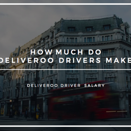 how much do deliveroo drivers make - deliveroo driver pay 2019 deliveroo driver salary uk