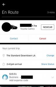 how to contact or cancel an uber ride