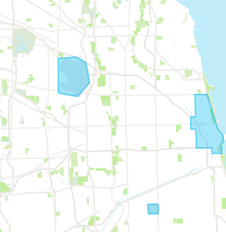 via chicago service areas 2017