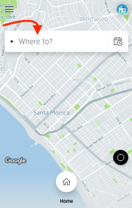 Where to select your location