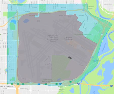 Uber Minneapolis St Paul airport guide 2017 staging area rideshare uber msp airport drop off pickup area