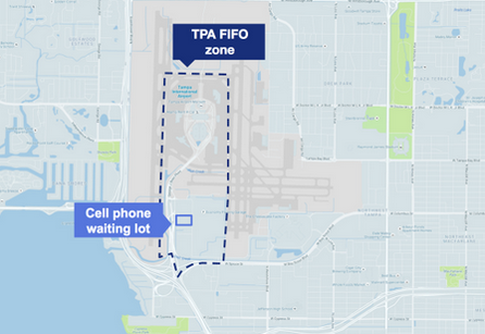 uber tampa airport staging area uber tampa tpa guide 2017