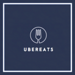 UberEATS delivery driver
