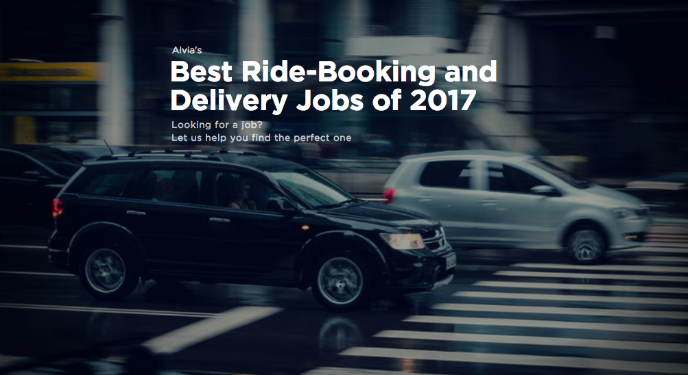 Best ride-booking and delivery jobs 2017