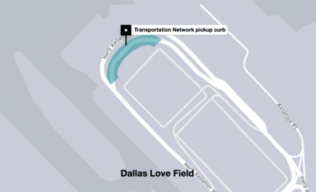 uber dallas love field pickup area how to pick up passengers at dallas airport uber rules 2019 dallas uber airport instructions 2019