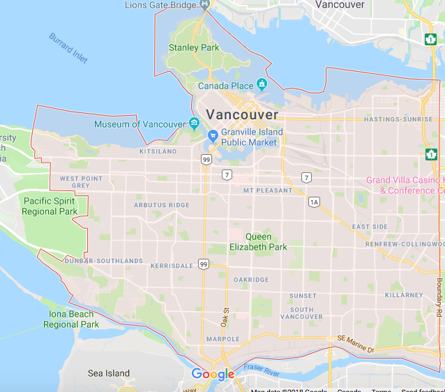 ubereats vancouver hotspots delivery area 2019 best ubereats delivery areas vancouver ubereats hotspots map 2019
